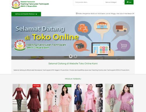 Website Pemasaran (E-Commerce) SMKN 2 Muara Enim