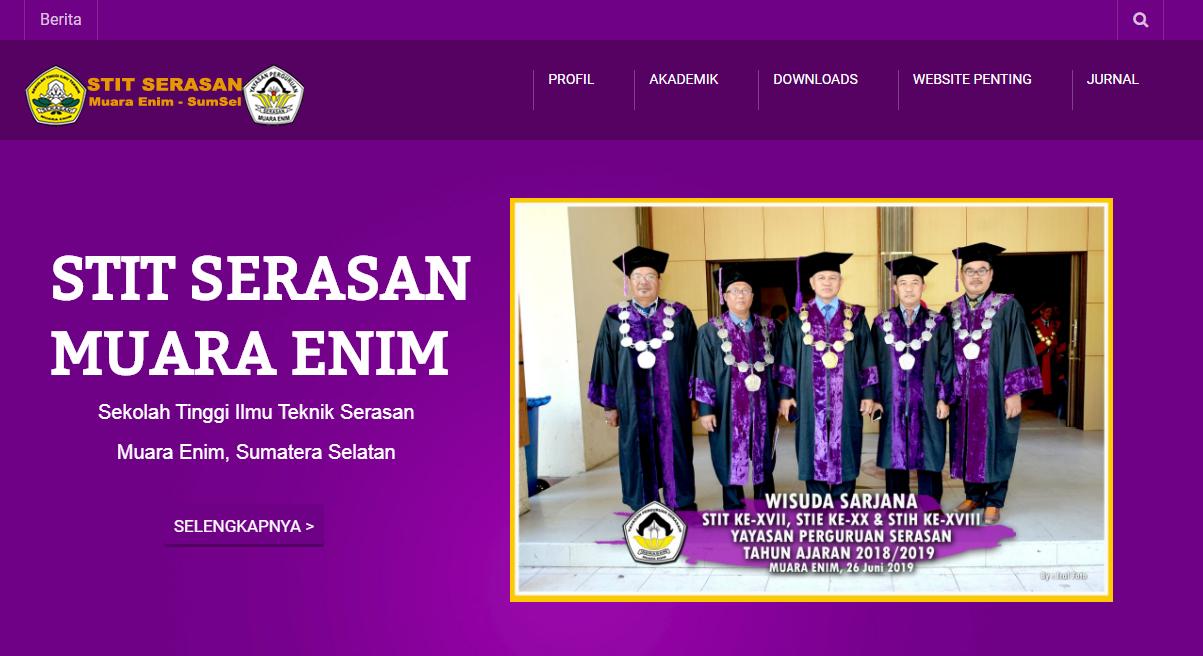 Web Kampus STIT Serasan Muara Enim Sumatera Selatan